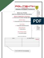 Buku Log Projek Cover