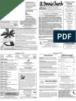 Jan 13 Bulletin