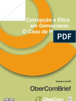 Corrupção e Ética em Democracia O Caso de Portugal