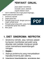 Diet Ginjal