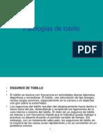 Patologías de tobillo