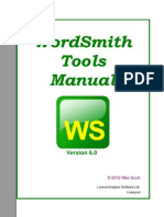 WordSmith6 Manual