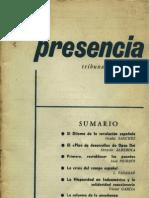 Presencia 01 - 1965 Nov-dic