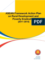 ASEAN Framework Action Plan on Rural Development and Poverty Eradication (2011-2015)