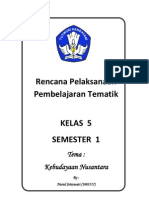 RPP Kelas 5 Semester 1