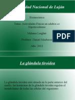 Act. Fisicas en Adultos Con Hipotiroidismo- Melanie Largher