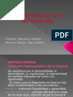 Actividad f+¡sica con ni+¦os con hiperkinesia POWER TERM
