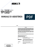 manuale officina yamaha majesty skyliner 125-150cc