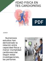 Actividad Fisica en Pacientes Cardiopatas Pocha
