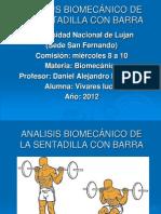 ANALISIS BIOMEC+üNICO DE LA SENTADILLA CON BARRA