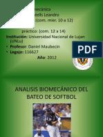 Analisis Biomecanico Del Bateo de Softbol