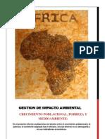Crecimiento Poblacional y Pobreza Africa- Yoel Iglesias