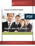 Weekly Newsletter-equity 14jan2013