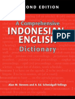 25.a Comprehensive Indonesian-English Dictionary