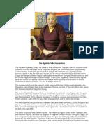 Biographical Interview With Ngaktrin Tulku-- Tsewang Dechen Rinpoche