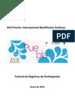 Tutorial de Registros PIBA