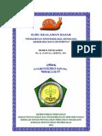 Epistemologi, Ontologi & Aksiologi (Junaidi)