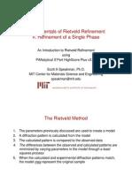 Fundamentals of Rietveld Single Phase Refinement HSP v3_2