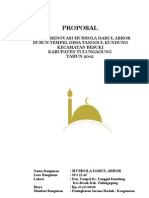 PROPOSAL RENOVASI MUSHOLA DARUL ABROR