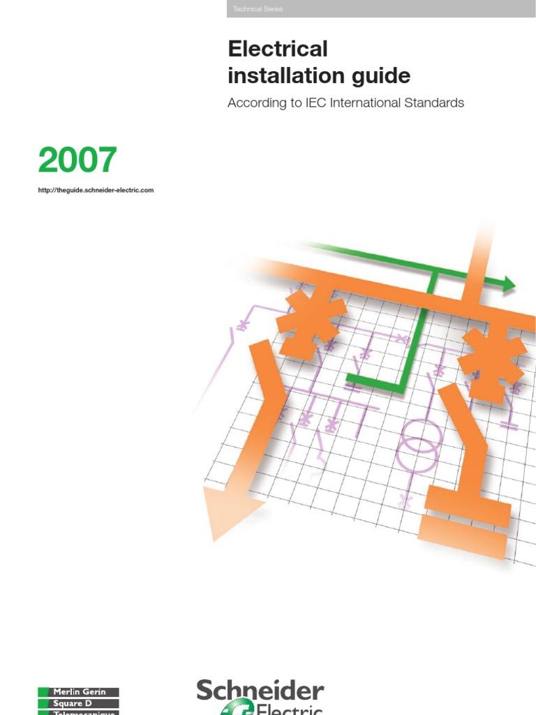 electrical installation guide 2007 schneider electric rh es scribd com Coleman Furnace Wiring Diagram Coleman Furnace Wiring Diagram