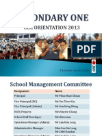 Secondary One CCA Orientation %28Principals%27 Address%29