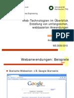 Web-Technologien im Überblick