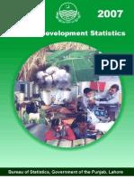 Punjab Development Statistics 2007