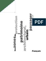 zone de protection du patrimoine architectural