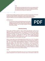 Defining International Banking