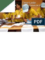 Timor-Leste, Eleições Gerais de 2012
