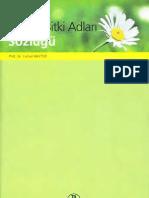 Türkçe Bitki Adları Sözlüğü