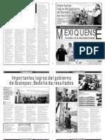 Versión impresa del periódico El mexiquense 11 enero 2013