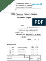 Statistics Acceptance Report