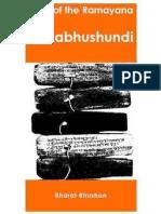 Kakabhushundi - Birds of the Ramayana (1)
