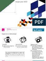 Les pronostics des Français pour 2013