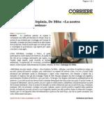 2012.10.24 [Corriere]