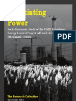 Negotiating Power Study of Socio-Economic Impacts of GKEL in Dhenkanal