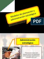 administracion estratgica y modelos de planeacion