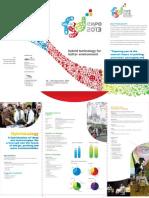 FGD Expo 2013 marketing folder
