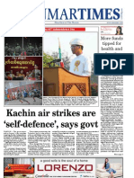 The Myanmar Times (Jan 7 - 13 2013)