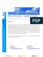 Smart self-service - a guide for buyers
