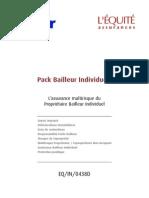 CG Pack Bailleur Individuel EQIN0438 D