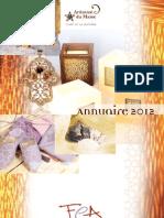 Annuaire association FEA (2012)