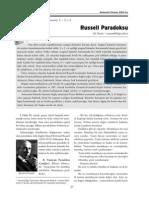 Russell Paradoksu