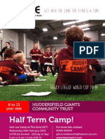 Rugby Half Term Camp