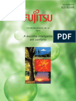 Catalogo Fujitsu Piso Teto Cassete