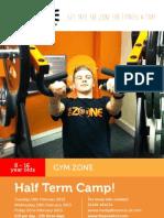 Gym Half Term Camps