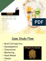 BSII-Cirque Du Soleil Case Study