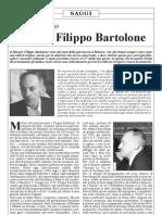 Filippo Bartolone / Cristianesimo e filosofia in F.B.