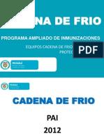CADENA DE FRIO PAI